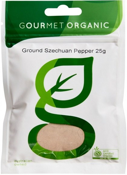 Gourmet Organic Ground Szechuan Pepper 25g Sachet x 1