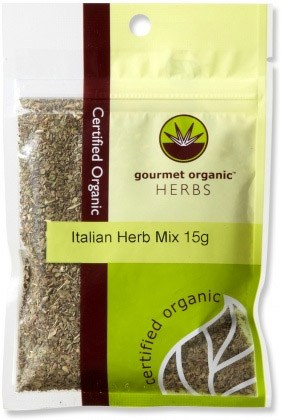 Gourmet Organic Italian Herb Mix 15g  Sachet x 1