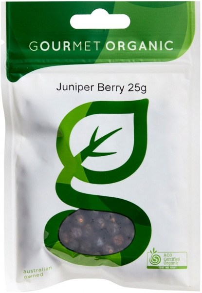 Gourmet Organic Juniper Berries 25g Sachet x 1