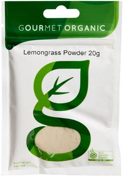 Gourmet Organic Lemongrass Powder 20g Sachet