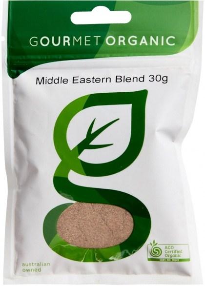 Gourmet Organic Middle Eastern Blend 30g Sachet
