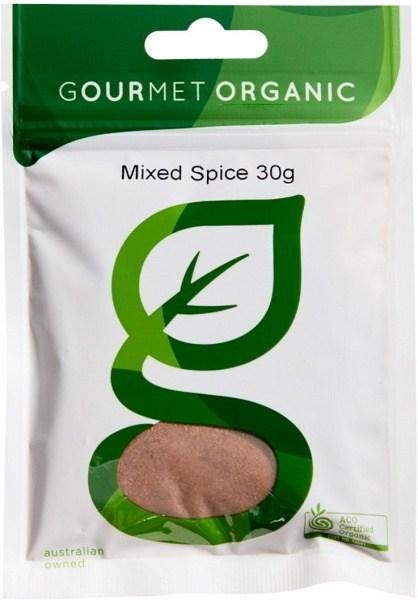 Gourmet Organic Mixed Spice 30g Sachet