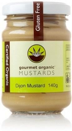 Gourmet Organic Mustard Dijon 140g