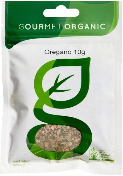 Gourmet Organic Oregano 10g Sachet x 1