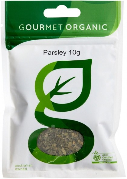 Gourmet Organic Parsley 10g Sachet x 1