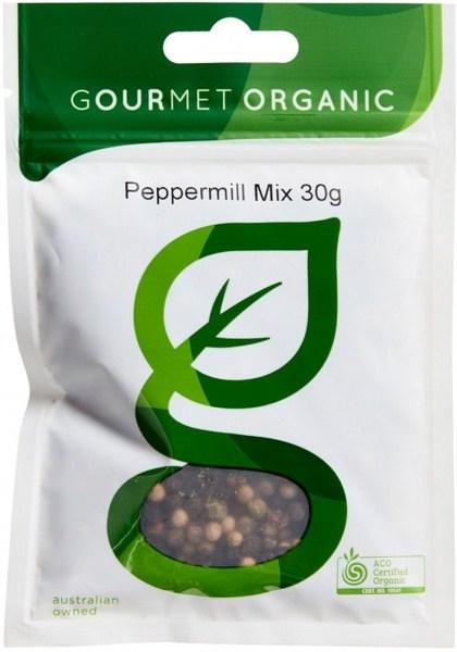 Gourmet Organic Peppermill Mix 30g Sachet