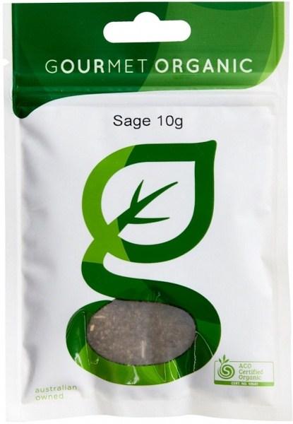Gourmet Organic Sage 10g Sachet x 1