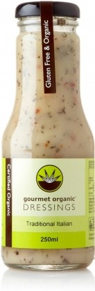Gourmet Organic Traditional Italian Dressing 250ml
