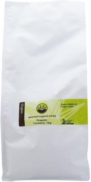 Gourmet Organic Turmeric 1Kg