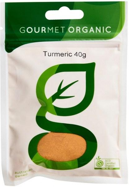 Gourmet Organic Turmeric 40g Sachet x 1