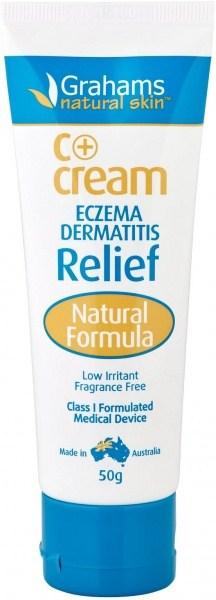 Grahams C+ Eczema & Dermatitis Cream Class I MD 50gm
