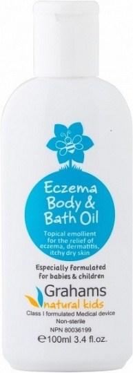 Grahams Natural Skin Body & Bath Oil 100ml