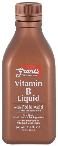 Grants Liquid Vitamin B 500ml