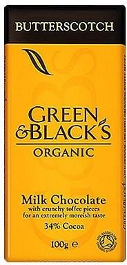 Green & Blacks Butterscotch Milk Chocolate 100g