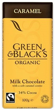 Green & Blacks Caramel Milk Chocolate 100g