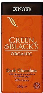 Green & Blacks Ginger Dark Chocolate 100g