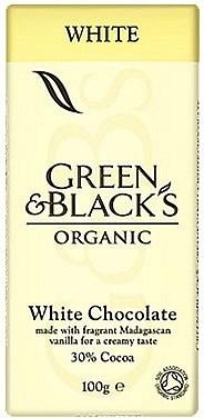 Green & Blacks White Chocolate 30% Cocoa 100g