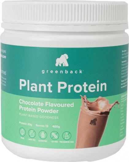 Greenback Plant Protein Chocolate Protein Powder  400g