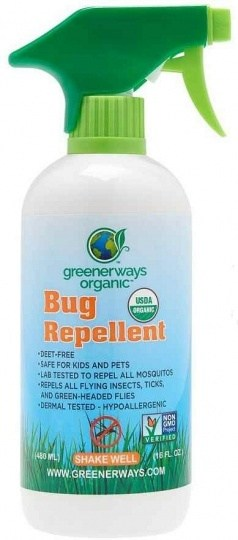 Greenerways Organic Bug Spray 480ml