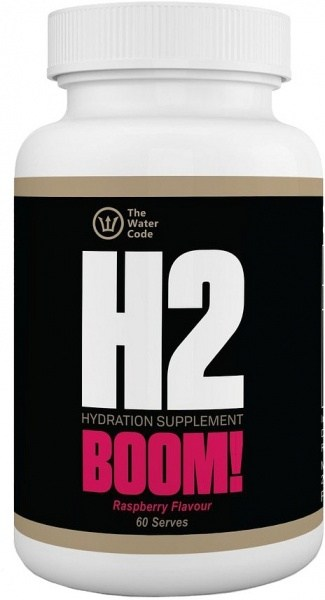 H2 Boom Hydration Supplement Raspberry 60 Serves OCT21