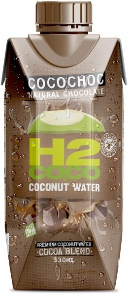 H2Coco Chocolate Coconut Water 12x330ml