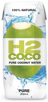 H2Coco Pure Coconut Water 12x330ml