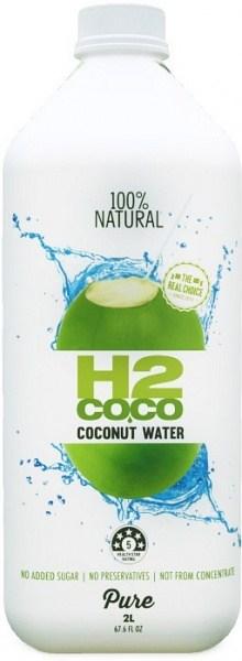 H2Coco Pure Coconut Water 2L