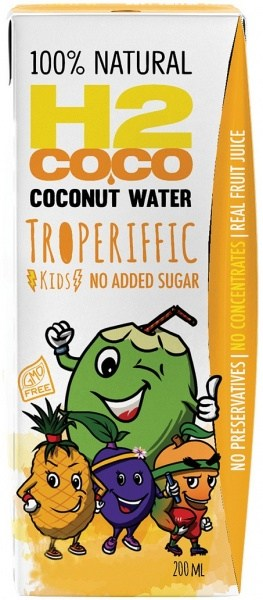 H2Coco Troperiffic Coconut Water (Pack of 3) 200ml