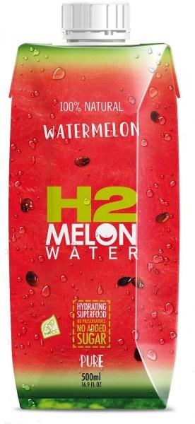 H2Melon Watermelon Water 12x500ml