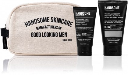 Handsome Men's Organic Skincare Protect & Perfect Gift Pack
