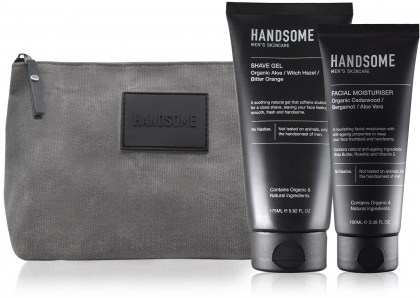 Handsome Men's Organic Skincare Style Gift Pack