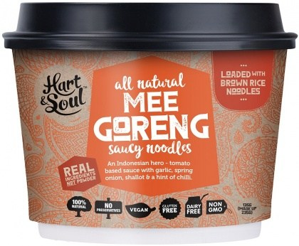 Hart & Soul All Natural Mee Goreng Saucy Noodles 135g