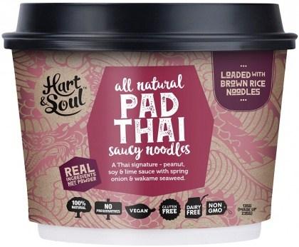 Hart & Soul All Natural Pad Thai Saucy Noodles 135g