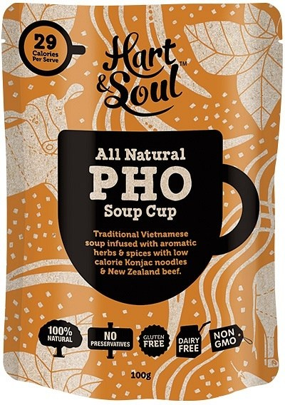 Hart & Soul All Natural Pho Soup Cup Sachet  100g