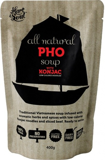 Hart & Soul All Natural Pho Soup in Pouch 400g