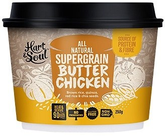 Hart & Soul All Natural Super Grain Butter Chicken Ready Meal  250g