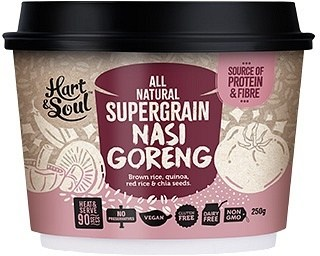 Hart & Soul All Natural Super Grain Nasi Goreng Ready Meal  Vegan 250g