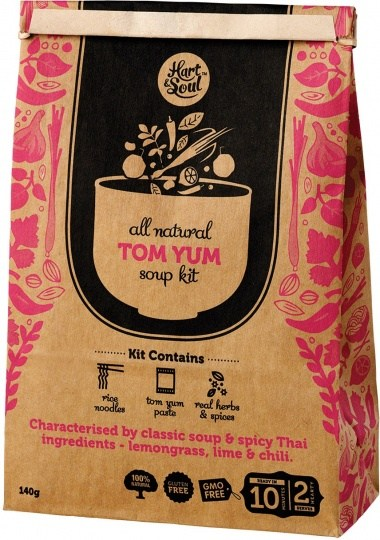 Hart & Soul All Natural Tom Yum Soup Kit 140g