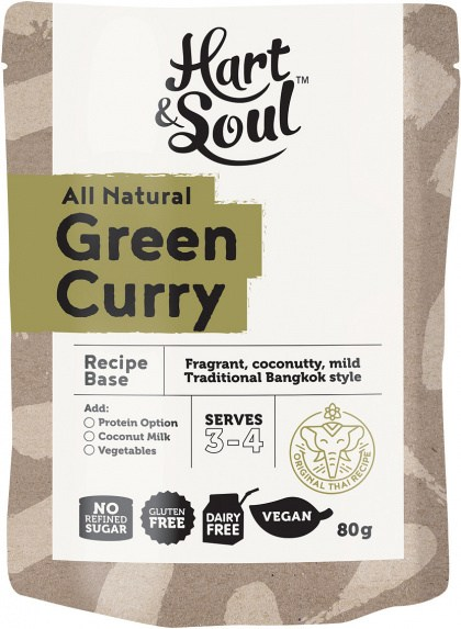 Hart & Soul Green Curry Recipe Base 80g