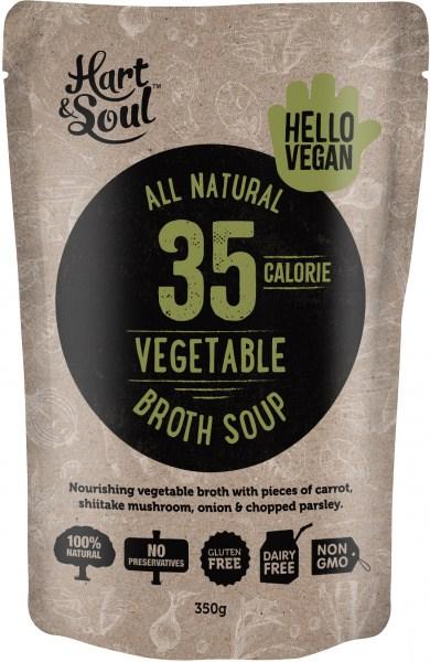 Hart & Soul Veg Broth Soup 350g