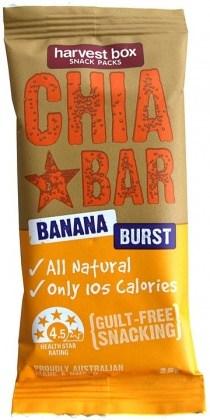 Harvest Box Chia Bar Banana Burst 16x25g