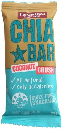 Harvest Box Chia Bar Coconut Crush 16x25g