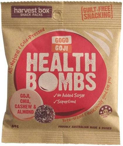 Harvest Box GoGo Goji Health Bombs 40g