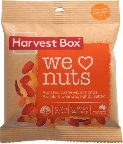 Harvest Box We Love Nuts  45g