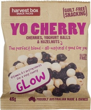 Harvest Box YO Cherry, Dried Fruit & Nut w/Yoghurt Balls  45g