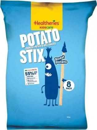 Healtheries Kidscare Potato Stix Roast Potato 8Pk