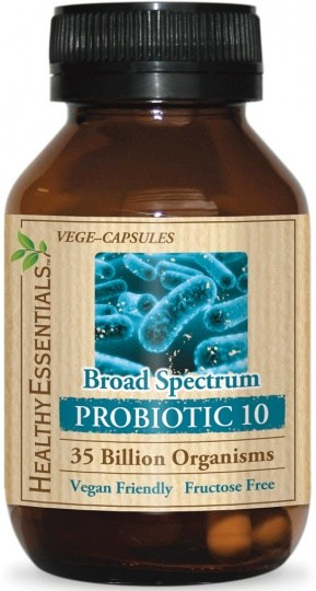 Healthy Essentials Broad Spectrum Probiotic 10 30caps