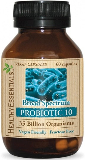 Healthy Essentials Broad Spectrum Probiotic 10 60caps