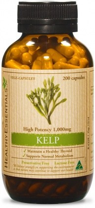 Healthy Essentials Kelp 1000mg 100caps