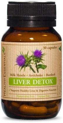 Healthy Essentials Liver Detox 30caps